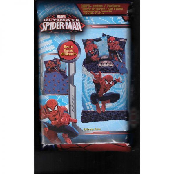 Housse de couette spider man pour enfant