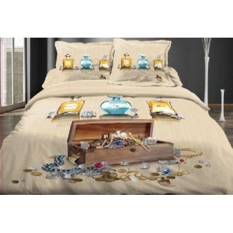 parure de lit 3d nadia. Black Bedroom Furniture Sets. Home Design Ideas