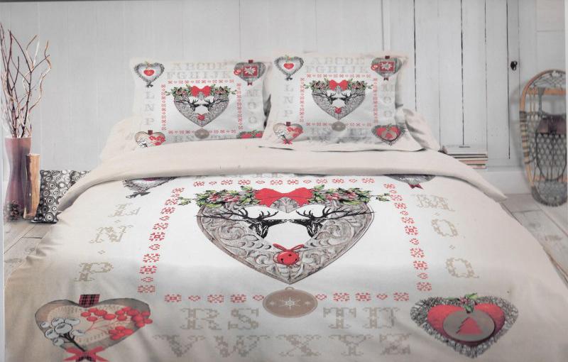 parure de lit montagne nadia. Black Bedroom Furniture Sets. Home Design Ideas